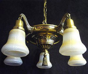 1914 beardslee colonial revival chandelier