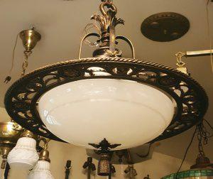1920s beardslee modern chandelier