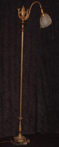 brass victorian floor lamp