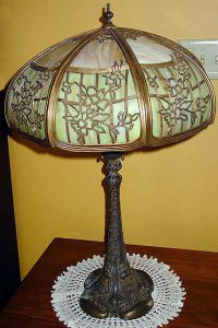 duffner and kimberly art nouveau table lamp