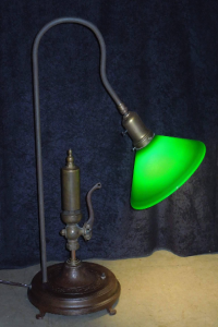 authentic steam whistle table lamp